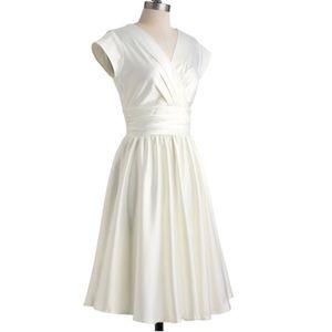 ModCloth I Love You Ivory Day wedding dress